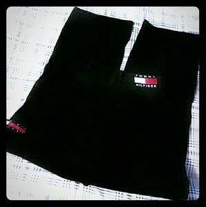 Tommy Hilfiger Black Jeans Size 29x32 Vintage